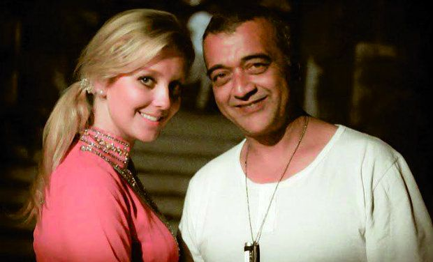 MS ENGLAND KATE HALLAM WITH LUCKY ALI