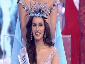 Manushi Chiilar Miss World 2017